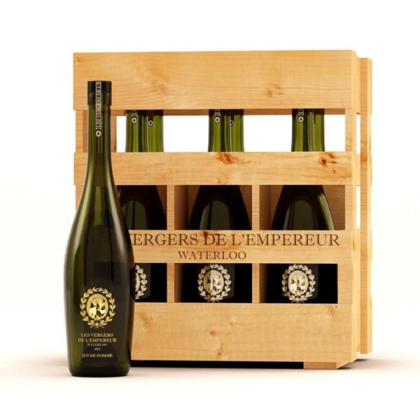 Casier – jus de pomme – 6 bouteilles 75cl